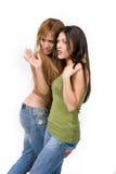 flickor två barn Royaltyfria Bilder