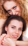 Flickvänner Arkivbild