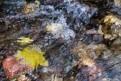 Fließendes Wasser Lizenzfreies Stockfoto