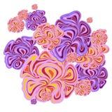 Flieder-rosa Hintergrund Stockfoto