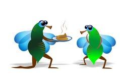 Fliege  stock abbildung