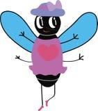 Fliege Fashionista lizenzfreie abbildung