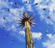 Fliege hoch stockbild