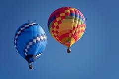 Fliege im Heißluftballon Lizenzfreie Stockfotografie
