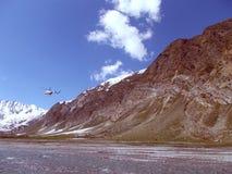 Fliege im Himmel Stockfoto