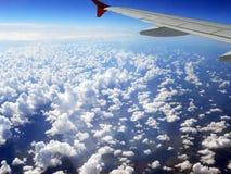 Fliege im Himmel Lizenzfreies Stockfoto
