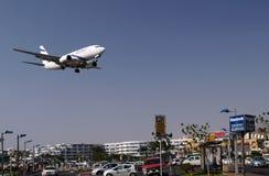 Fliegen über Eilat Lizenzfreies Stockfoto