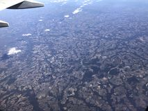 Fliegen über Florida stockfotografie