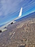 Fliegen über LA Stockbilder