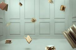 Fliegen-Bücher lizenzfreie stockfotografie