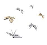 Fliegen-Bücher stockfotos
