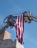 Fliegen der Flagge Lizenzfreies Stockfoto
