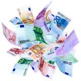 Fliegen-Euro Lizenzfreie Stockfotos