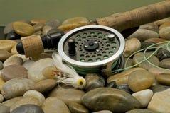 Fliegen-Fischen Lizenzfreie Stockfotos