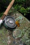Fliegen-Fischen VII lizenzfreie stockfotos