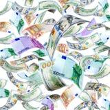 Fliegen-Geld Lizenzfreie Stockfotografie