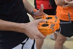 Fliegen-Kamera-Brummen-Fernbedienung RC Stockfotos