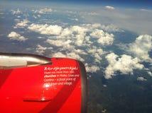 Fliegen nach Malta Lizenzfreie Stockfotografie