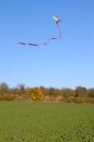 Fliegen Sie einen Drachen lizenzfreies stockbild