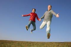 Fliegen Sie Paare lizenzfreie stockfotografie