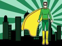 Fliegen-Superheld Lizenzfreies Stockfoto