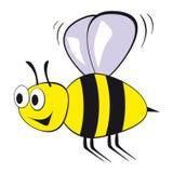 Fliegenbiene stock abbildung
