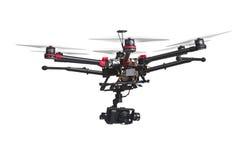 Fliegenbrummen mit einer Kamera Lizenzfreie Stockfotografie
