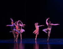 Fliegendes selbst-klassisches Ballett ` Austen-Sammlung ` Stockfotografie