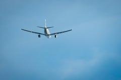 Fliegendes wegflugzeug stockbilder