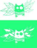 Fliegenkatzen Stockbilder