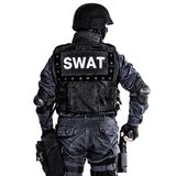 FLIEGENKLATSCHE-Offizier Lizenzfreie Stockfotografie