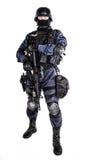 FLIEGENKLATSCHE-Offizier Stockbilder