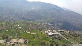 Fliegenklatsche, PakistanUp der Hügel Lizenzfreie Stockfotografie
