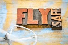 Fliegensafe - Brummenoperationsanzeige Stockfotos