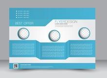 Flieger, Broschüre, ZeitschriftenAbdeckung Schablone Designlandschaftsorientierung Lizenzfreies Stockfoto