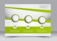 Flieger, Broschüre, ZeitschriftenAbdeckung Schablone Designlandschaftsorientierung Stockbilder