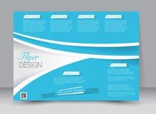 Flieger, Broschüre, ZeitschriftenAbdeckung Schablone Designlandschaftsorientierung Stockfoto