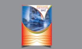 Flieger-Broschüren-Design-Schablonen-Vektor Stockbild