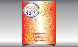 Flieger-Broschüren-Design-Schablonen-Vektor Stockfotos