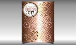 Flieger-Broschüren-Design-Schablonen-Vektor Lizenzfreie Stockfotografie