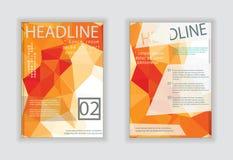 Flieger, infographic Vektoren des Broschüren-Designs Broschüre, Flieger Stockbilder