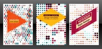 Flieger mit einfachem geometrischem Design Lizenzfreie Stockbilder