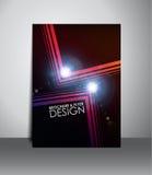 Flieger- oder Broschürendesign Stockbilder