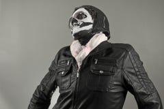Flieger Skull stockbild