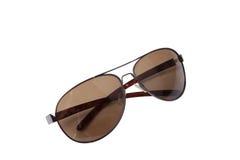 Flieger-Sonnenbrillen Stockbild