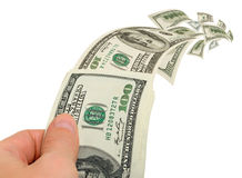 Bank fees, charges, transfers, service. royalty free stock image