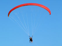 Flies on a parachute Royalty Free Stock Image