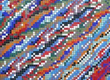 Fliese-Beschaffenheits-Mosaik stockfotografie
