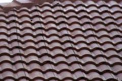 Fliese-Dach Stockfoto