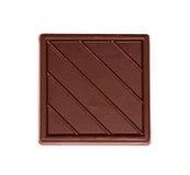 Fliese der dunklen Schokolade Lizenzfreies Stockfoto